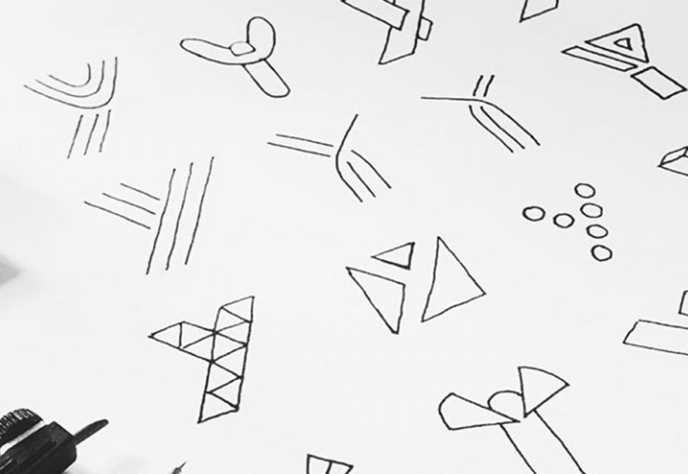 The process of logo design from concept to the final product
