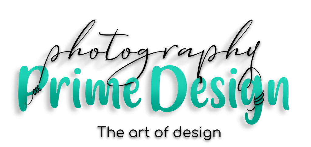 Prime design and photography logo
